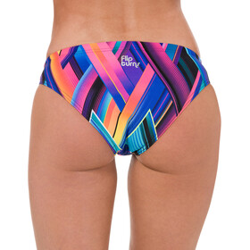 speedo Fizzbounce 2 Piece Crossback Bikini Femme, violet/limepunch/turquoise